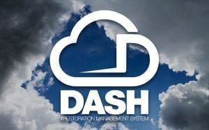 Dash water damage cleanup software
