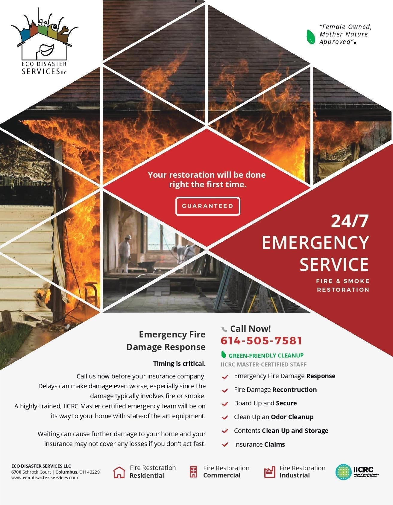 Fire Damage Brochure